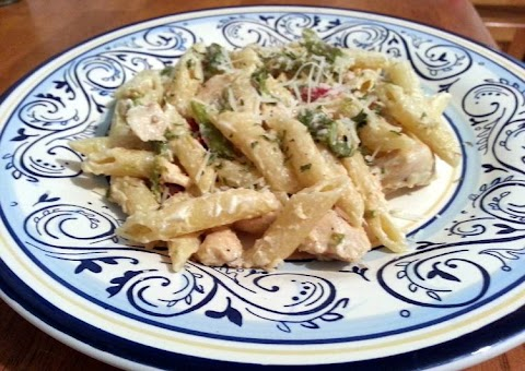 Recipe: Tasty Chicken Penne with Asparagus