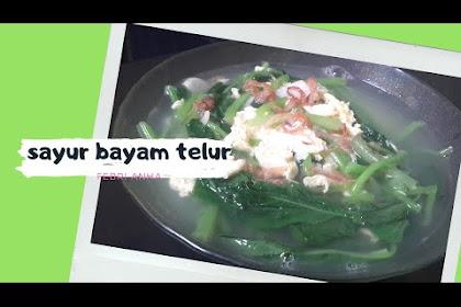 Resep Telur Sayur