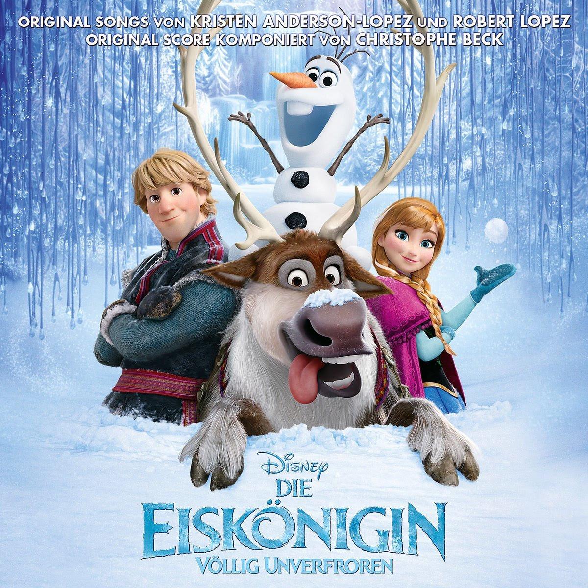 Die Eiskönigin Völlig Unverfroren Soundtrackalbum Disney Wiki