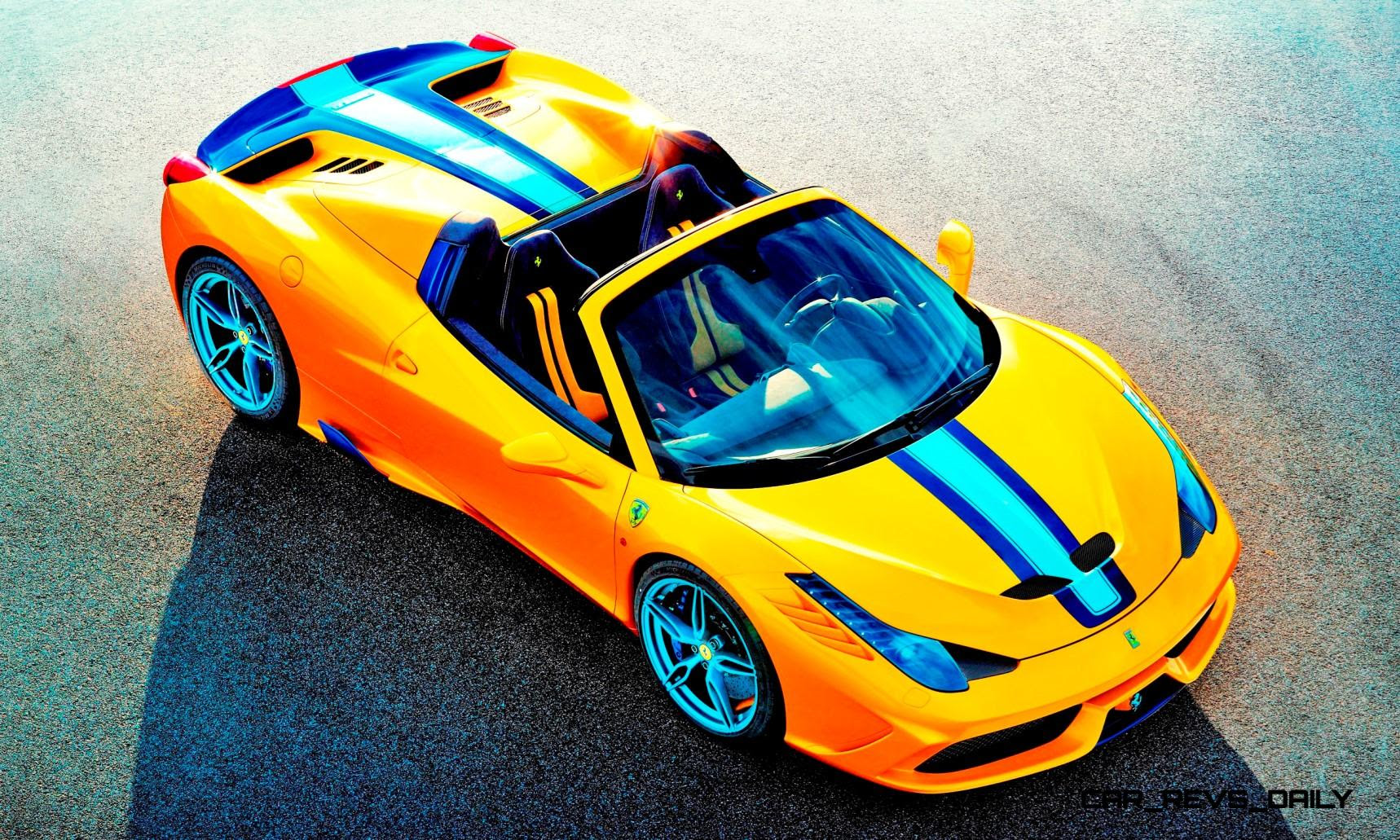 2015 Ferrari 458 Speciale Aperta Is Top Down Heaven With