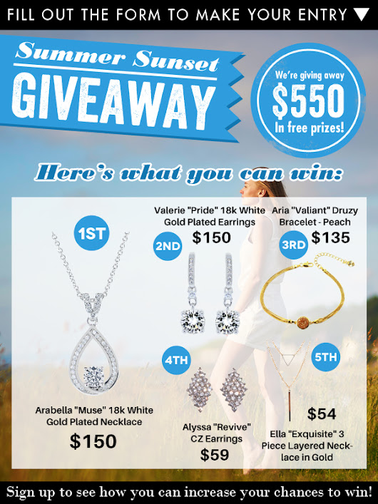 Cate and Chloe Jewelry Giveaway - Shopping Parrot