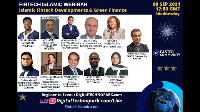 GREEN FINTECH AND ISLAMIC FINTECH DEVELOPMENTS