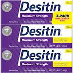 Desitin Baby Diaper Rash Maximum Strength Original Paste 3 pk./4.8 oz.