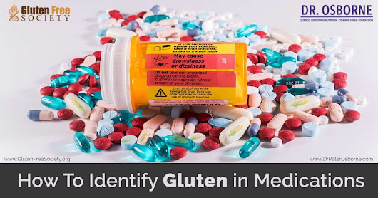 How to identify Gluten on Medication