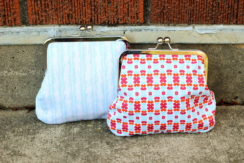 Color Me Retro Frame Purses by Jeni Baker