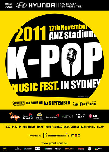 KPOP Music Fest in Sydney!