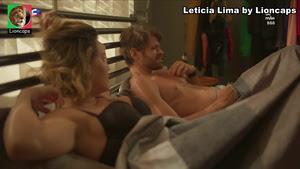 Leticia Lima sensual na novela Amor Mãe