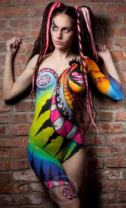 Face & Body Art Body Painting Convention
