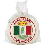 La Banderita Flour Tortillas - Rica's - 22.5 Oz - Pack of 12
