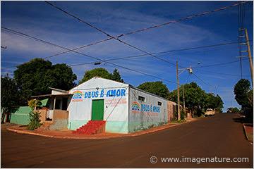 Foz do Iguacu street scene, Brazil