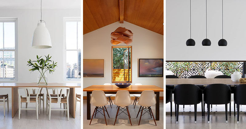Lighting Design Idea 8 Different Style Ideas For Lighting Above Your Dining Table
