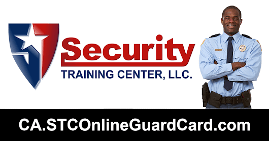 $17.99 California Online Guard Card Training from Security Training Center, LLC.