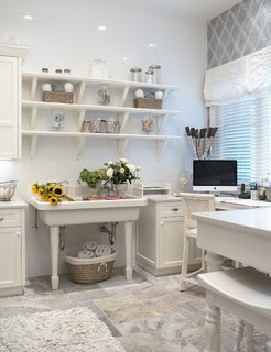 Practical Magic traditional home office