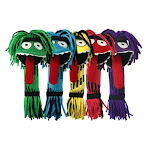Multipet International 250303 Silly Rope Monster Dog Toy Assorted Color