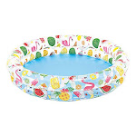 """Intex Inflatable Stars Kiddie 2 Ring Circles Swimming Pool (48"""" X 10"""") [assorted Styles]"""