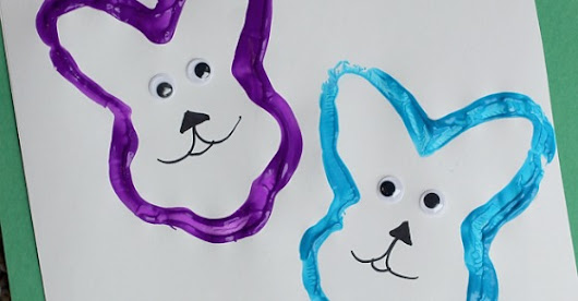 Easter Bunny Stamp Craft - Love and Marriage