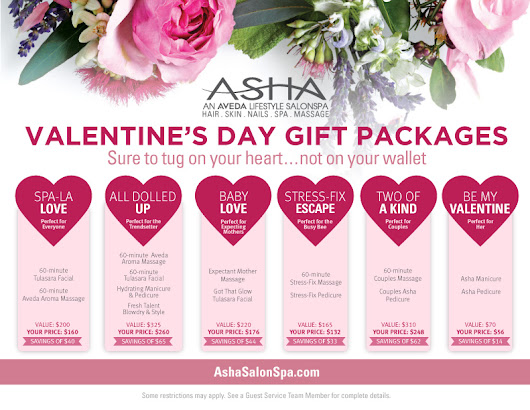 Asha SalonSpa | Chicago Aveda SalonSpa Promotions & Deals