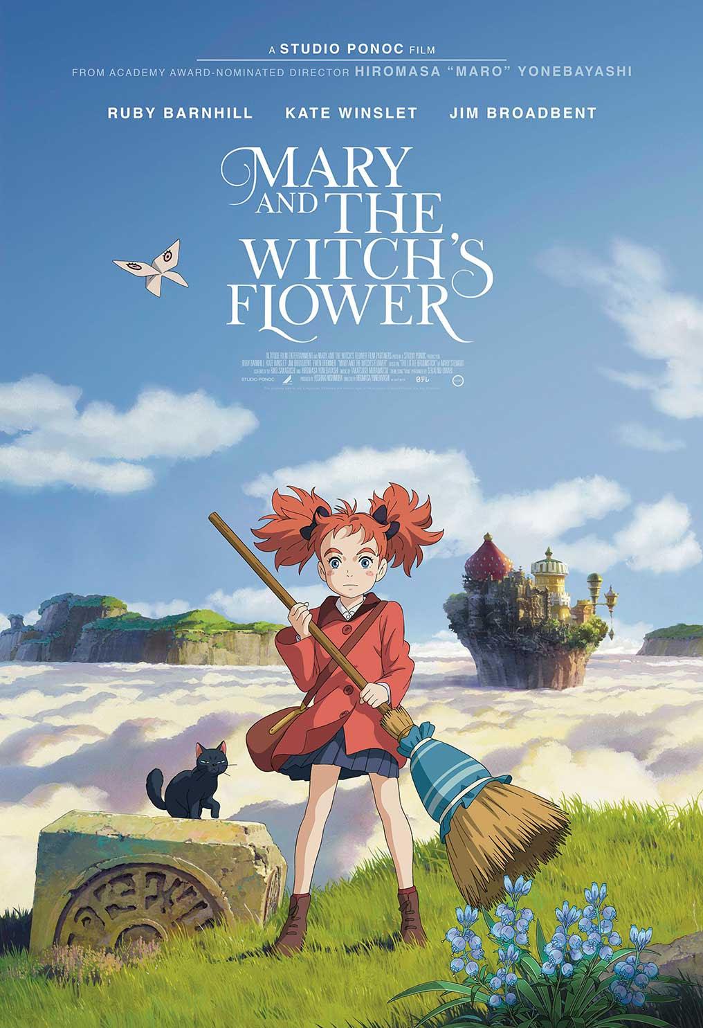 Resultado de imagen para mary and the witch's flower poster