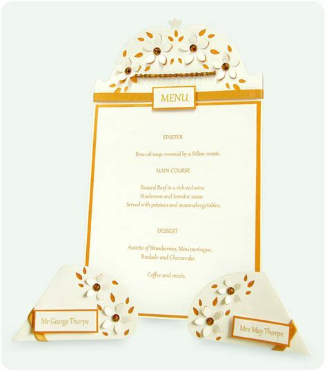 Katy Sue Designs Limited: Create Your Own Menu & Name Cards