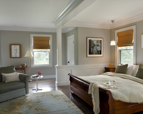 Green Master Bedroom Home Design Ideas, Pictures, Remodel