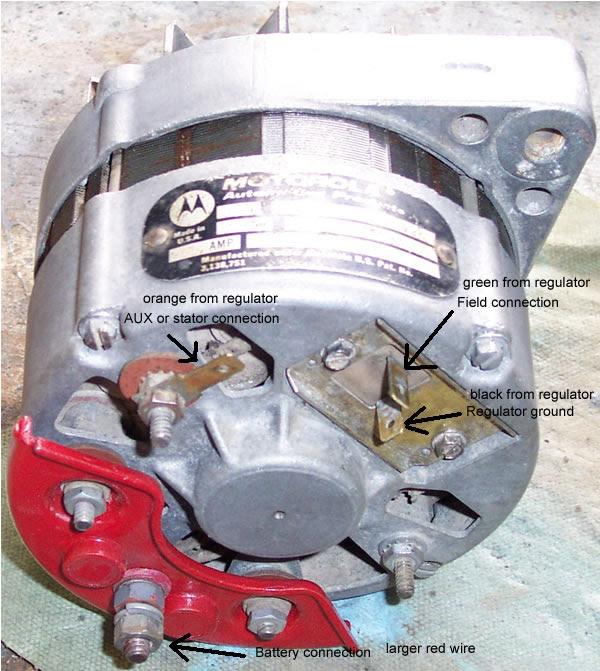 Alternator Wiring The Amc Forum Page 1