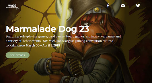 Marmalade Dog 23 Gaming Convention