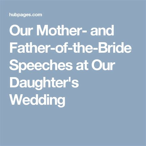 mother  father   bride speeches