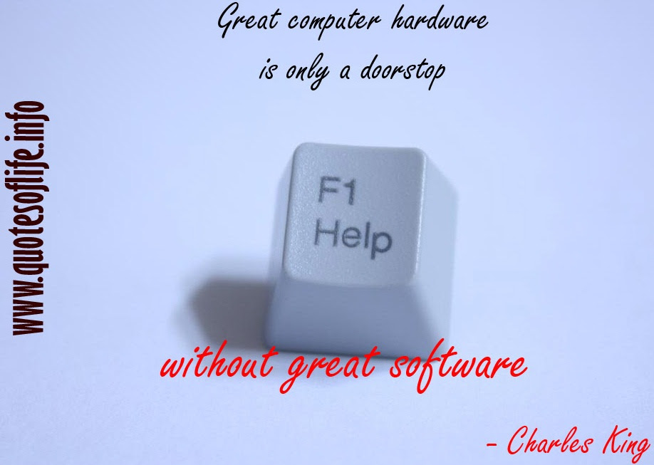 Quotes About Computer Software 58 Quotes