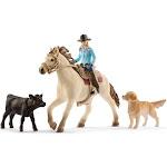 Schleich Farm World Western Riding