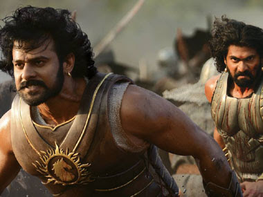 A still from Bahubali.