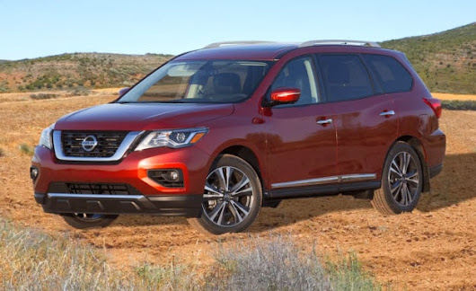 New Exterior, Features & Engine Show Up on the 2017 Pathfinder