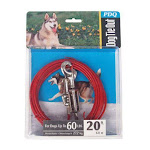 Ruffin' It 7n29220 Tangle-resistant Tie-out Cable, 20 Feet