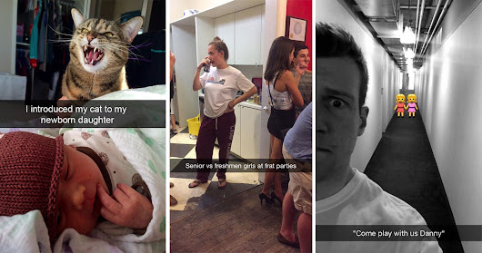 15 Hilarious Snapchats That Are 10 Seconds Of Pure Gold