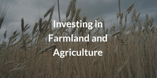 Investing In Farmland And Agriculture | Investing in Farmland