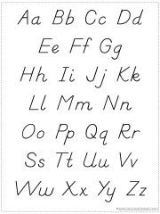 Choose Your Own Alphabet Chart Printable - 1+1+1=1