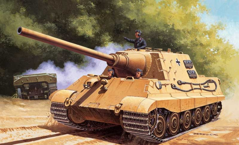 "Lycoris: Sd.Kfz.186 ""Jagdtiger / Hunting Tiger"", Tank"
