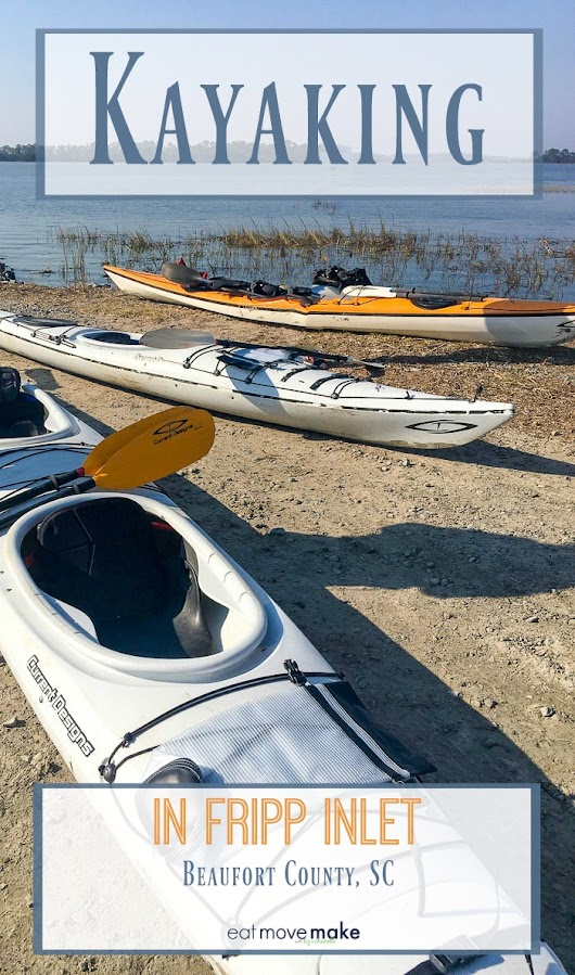 Kayaking in Fripp Inlet - Dolphin Sightings and Salt Marsh Solitude