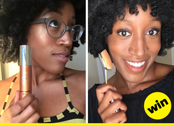 beauty products tried in real life