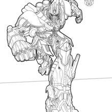 Dibujos Para Colorear Optimus Prime Eshellokidscom