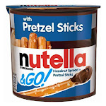 Nutella & Go! Hazelnut Spread & Pretzel Sticks - 1.9oz