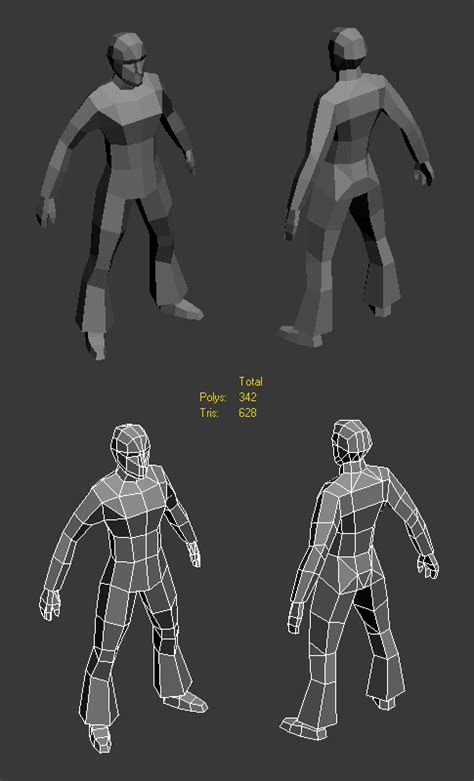 LOWPOLY (sub 1000~ triangle models) - Page 403 - Polycount