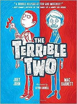 Terrible Two by Mac Barnett and Jory John book cover