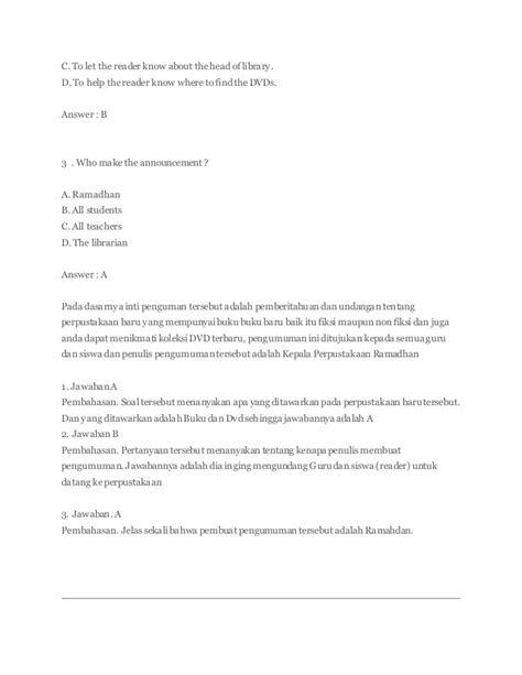 Pengertian Dan Contoh Announcement Dalam Bahasa Inggris