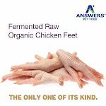 Answers Fermented Raw Organic Chicken Feet