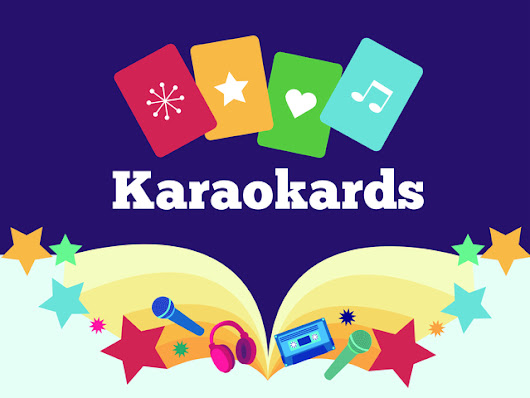 Karaokards: a card game for people who love music