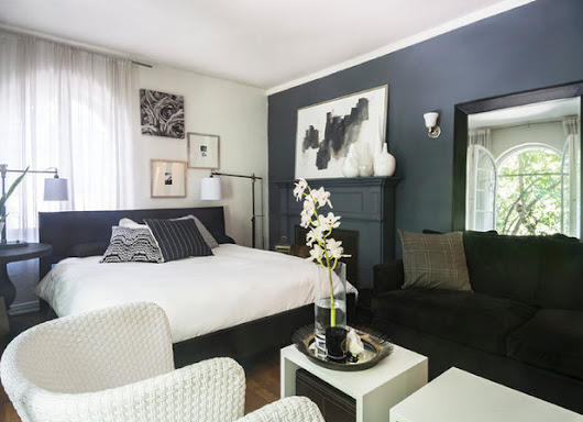My Houzz: A 550-Square-Foot Studio Gets High-Contrast Style