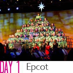Disney Day 1 Epcot