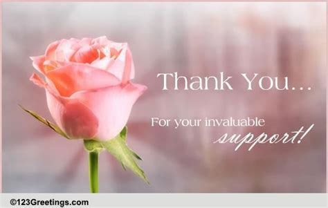 Although Thanks Is Not Enough! Free Flowers eCards