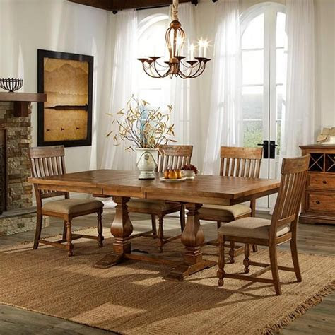 piece rhone dining set nebraska furniture mart