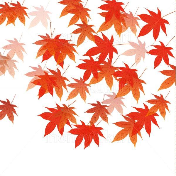 99円から390円素材sozai紅葉のイラスト背景 5